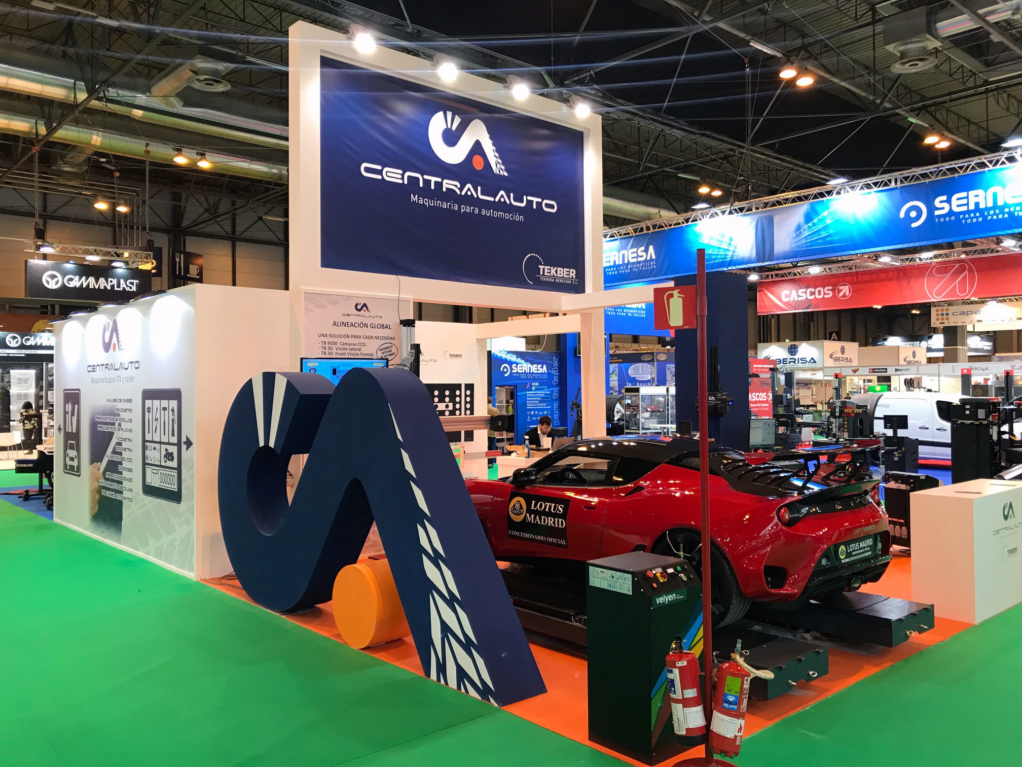 Feria Motortec automechanika 2019